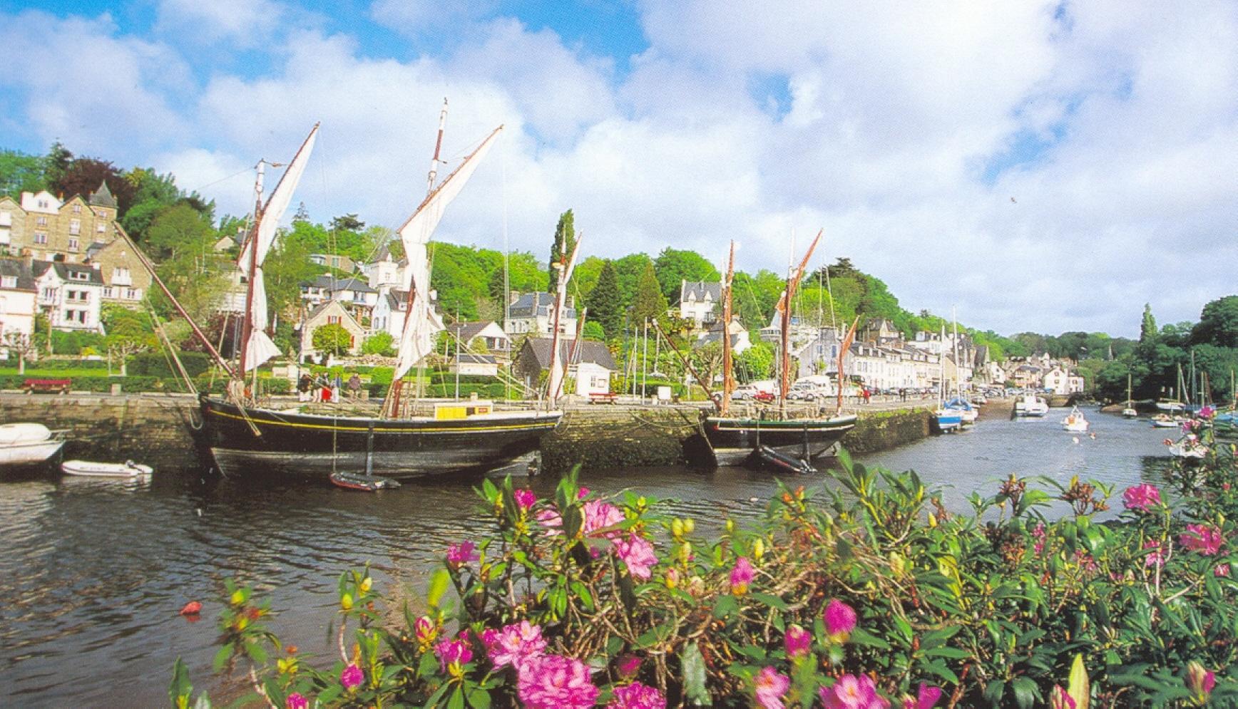 La Belle Angele : bateau célèbre à Pont Aven
