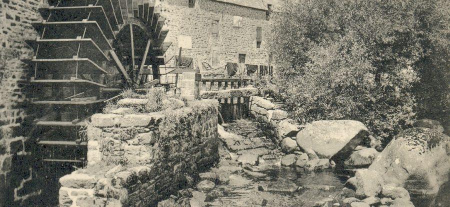 Grand moulin du port à Pont Aven