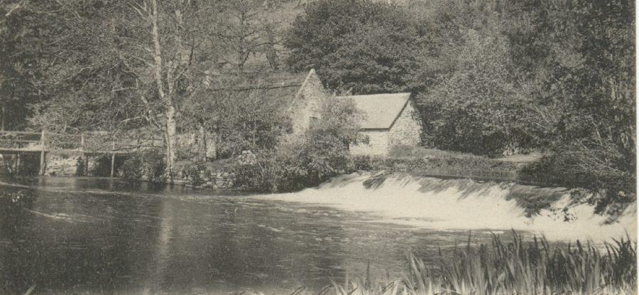 Moulin neuf du bois d'amour à Pont Aven