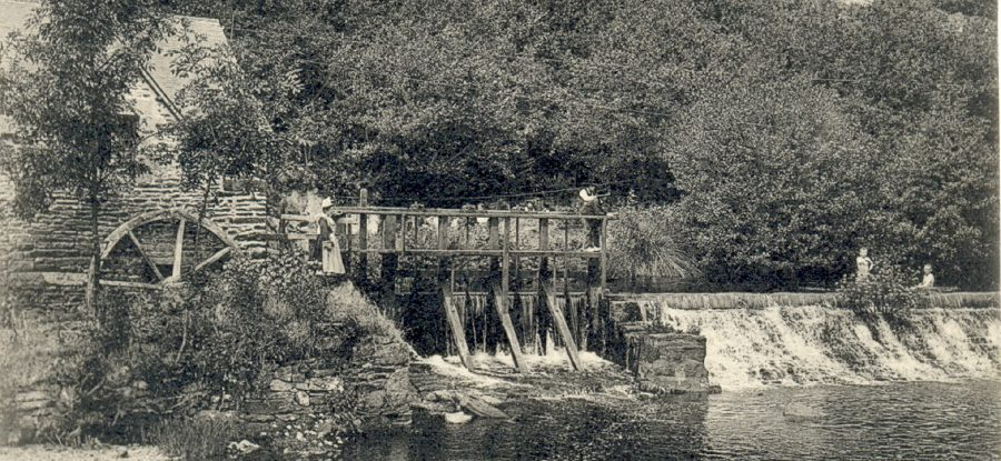Moulin du bois d'amour à Pont Aven