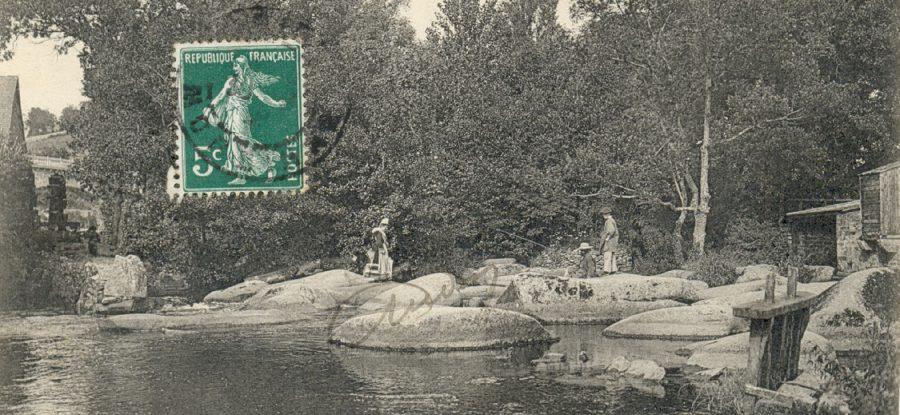 Carte postale ancienne de Pont Aven